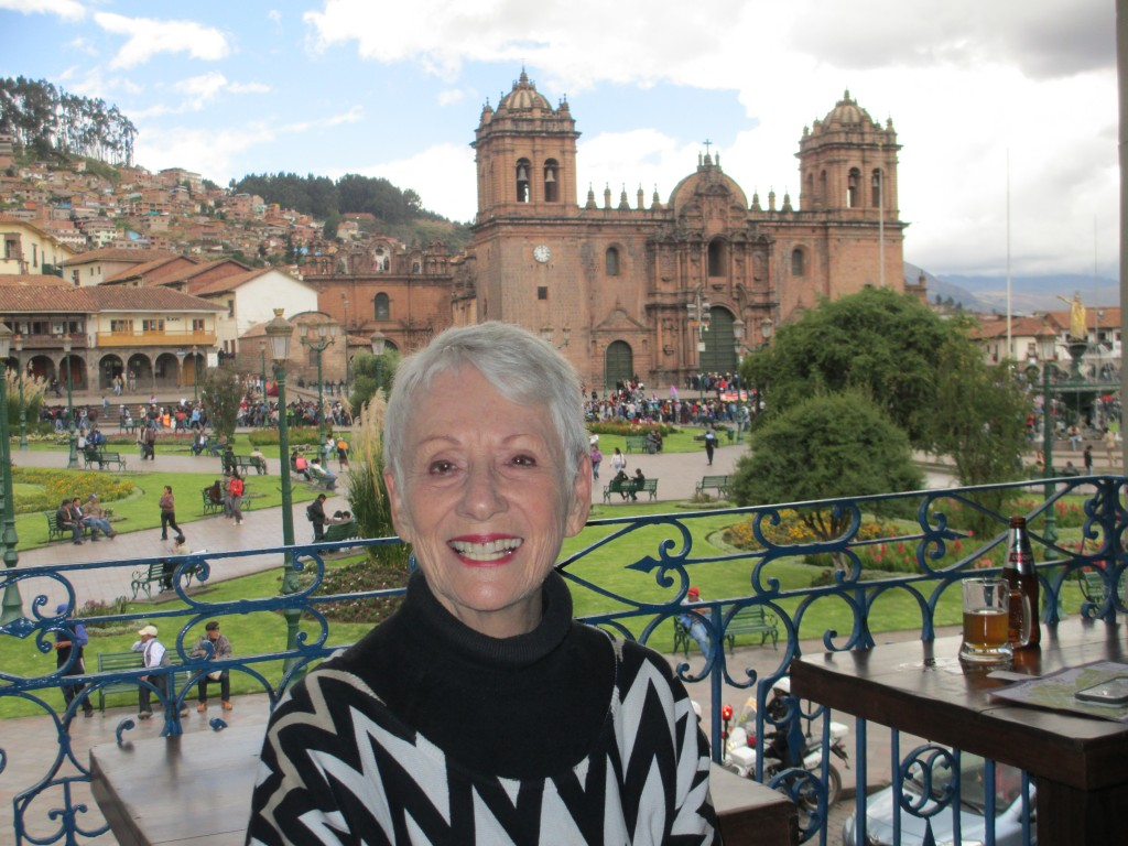 Me in Cusco, Peru, in May, 2014