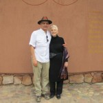 Joe Khoury and Me at Paz y Luz Yoga Resort in Pisac, Peru, The Sacred Valley