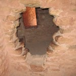 Peeking into a Cliff Dwelling Room - Can you see the Spirit Orbs?