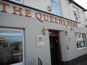 The Queen's Head Hotel is a Pub/B&B and very cozy and welcoming, about a half-hour's walk to town.