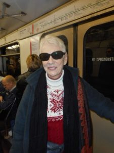 On the Moscow Subway. I got lost when I tried it myself.