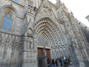 A Church In Barcelona.