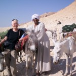 My Transport To The Valley of The Kings, along the Nile, in Egypt.