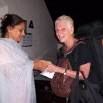 Arriving at my hotel in India