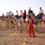 In a Camel Race in Nubia?