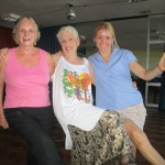 Dancing the Jig with Anna and Sonia in Montevideo, Uruguay