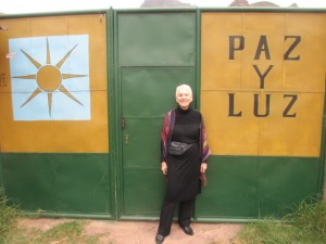 I have arrived at Paz y Luz (Peace & Light) Healing Resort in Pisac, Peru