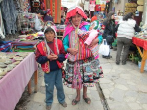 Native Peruvian Dress