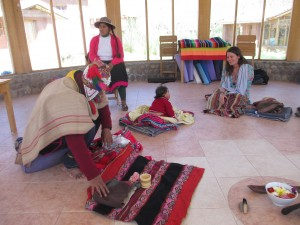 At Paz y Luz, a baby is welcomed with a formal haircutting ceremony