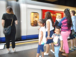 And then, we all took the tube home.