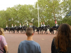 More horse guards coming on duty.