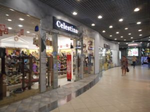 Talk about modern malls and stores!!! Russia has them, in plenty!