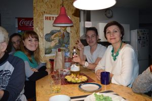 More of my Russian Family in the Troika Hostel.