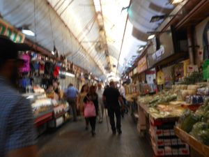 Here is a Souk, (market) not far from my hostel in Jerusalem.