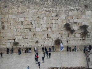 But, there's only one Wailing Wall and that's in Jerusalem.